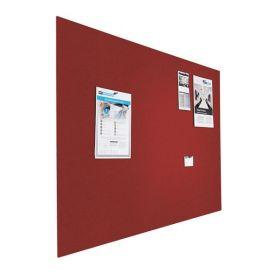 Tableau d'affichage (liège) - Mural - 120x180 cm  - Rouge