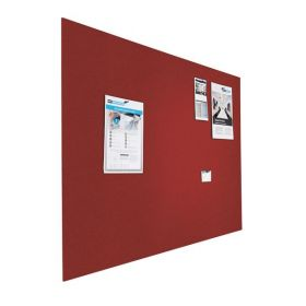 Tableau d'affichage (liège) - Mural - 60x90 cm  - Rouge