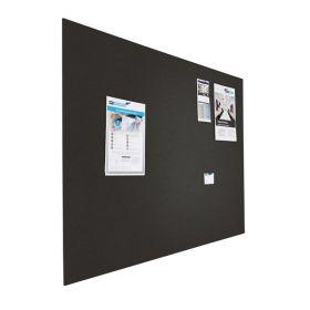 Tableau d'affichage (liège) - Mural - 90x120 cm  - Noir