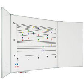 inklapbaar whiteboard 90x120 cm