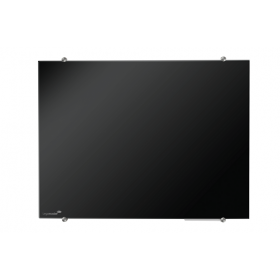 Legamaster tableau en verre noir