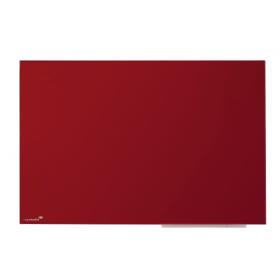 Legamaster tableau en verre rouge