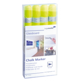 legamaster chalk markers geel