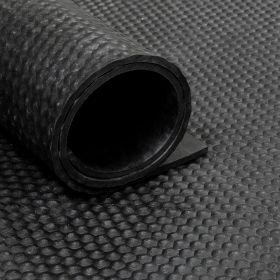 Tapis caoutchouc martelé 8 mm - largeur 200 cm (par mètre linéaire)