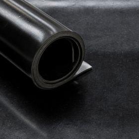 Feuille caoutchouc SBR 10 mm - largeur 140 cm - 1 pli