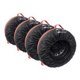 Housses de protection pour pneus - 4 pièces