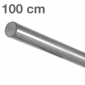 Main courante inox brossé 100 cm