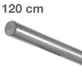 Main courante inox brossé 120 cm