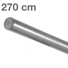 Main courante inox brossé 270 cm
