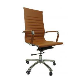 chaise de bureau cognac madrid