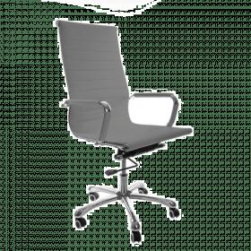 chaise de bureau design grise