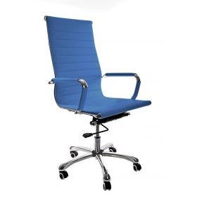 chaise de bureau madrid bleu