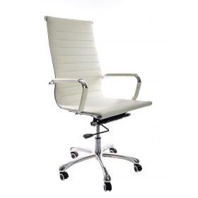 chaise de bureau design blanche