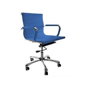 chaise de bureau valencia bleu