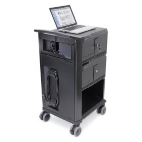 Ergotron Tablet Management Cart 32 - pour iPad - total