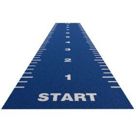 Sprinttrack Essential (kunstgras) - 10 x 2 m - Blauw