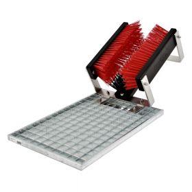 FloorMAX Classic - Module de nettoyage professionnel pour chaussures avec grille - Simple