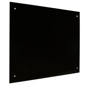Tableau en verre noir -45x60
