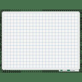 whiteboard met raster 90x120 cm