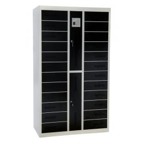 casier de stockage avec 24 compartiments