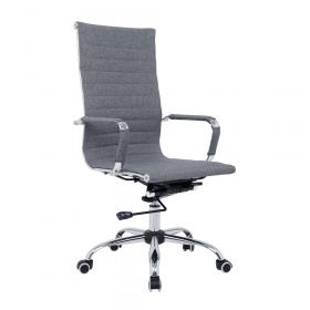 chaise de bureau grise de luxe