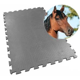 Tapis d'écurie 80 x 120 cm - 20 mm - système puzzle