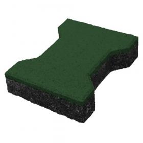 rubber klinker groen 43 mm