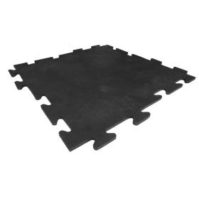 Rubber tegel 8mm x 50 x 50 cm - Puzzelsysteem