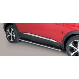 Sidebars Peugeot 3008 - 2016/Nu - Ovaal