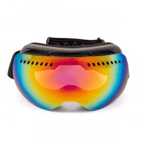 masque de ski effet miroir