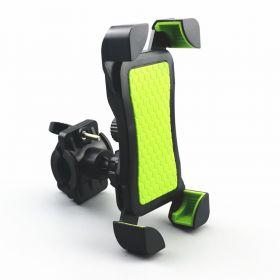 telefoonhouder groen fiets