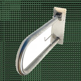 barre d'appui pliante avec porte papier toilette
