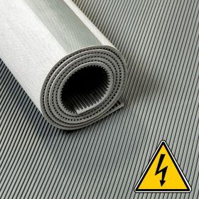 Tapis VDE / tapis haute tension / tapis isolant - 3 mm 30 Kv - Largeur 100 cm - Par mètre linéaire