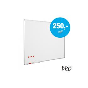 Tableau blanc sur mesure - Emaillé - (max. 150x240 cm)