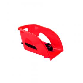 Assise / dossier pour luge en plastique - Rouge