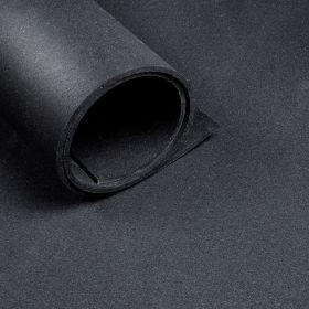 Sol pour salle de sport *Premium* - rouleau de 12,5 m2 - épaisseur de 6 mm - Noir