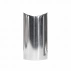 Support de main courante design en acier inoxydable - Poli