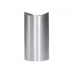 Support de main courante design en acier inoxydable - Brossé
