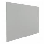 Tableau blanc sans cadre - 60 x 90 cm - Gris